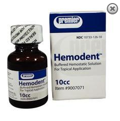 hemodent hemostatic liquid