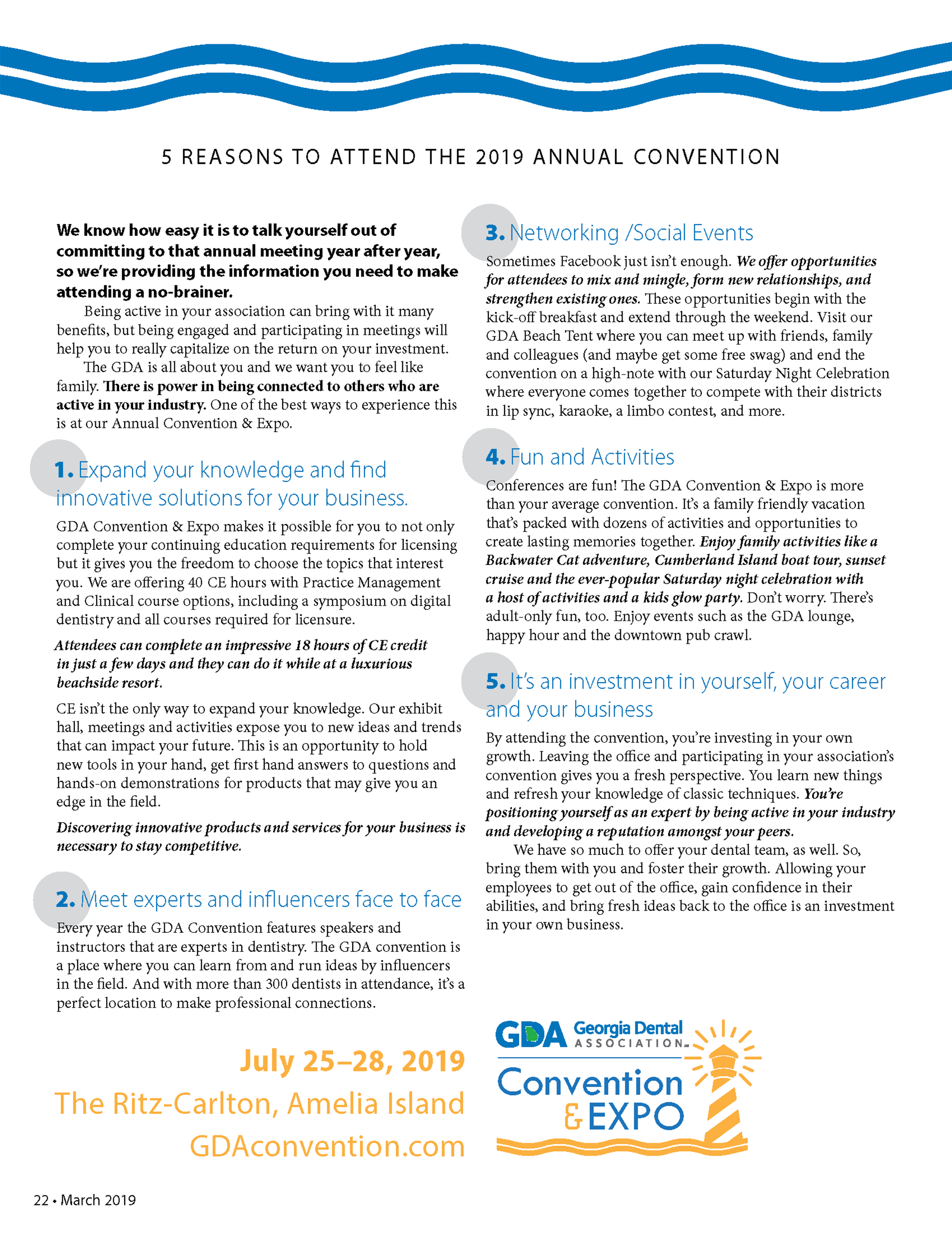 5 Reasons to Attend the 2019 Annual Convention