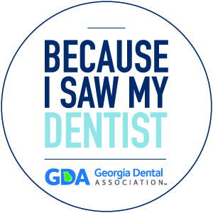 Because I Saw My Dentist logo