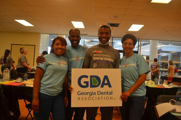 GDA volunteers at Special Olympics, Special Smiles